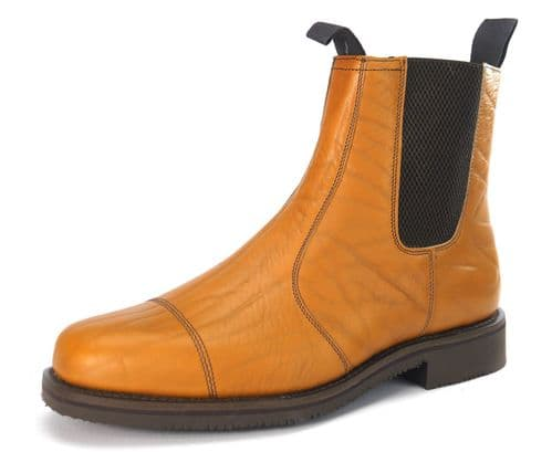 Charles Horrel - Catterick CH2002 Tan Grain Welted Boots